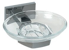 - C.R. Laurence GEN850BN CRL Brushed Nickel Geneva Series Soap Dish