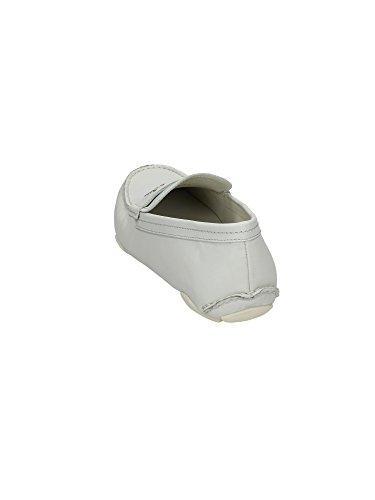Chaussures Mocassins Homme Modèle Abe Vachette Calvin Klein-Colonel 010584 Blanc