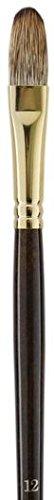 Monarch Filbert Long Handle - Winsor & Newton Monarch Brushes (Size: 12) - Filbert (Long Handle) 1 pcs sku# 1842001MA