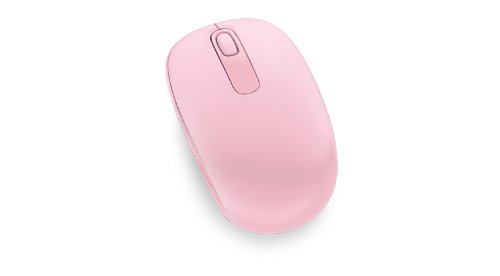 Microsoft Wireless Mobile Mouse 1850, Light Orchid (U7Z-00021),Pink (Light Orchid)