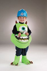 [Boy's Costume: Mike Candy Catcher Small PROD-ID : 561513] (Sully From Monsters Inc Costume)