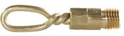 Tipton Solid Brass Slotted Tip Gun Jag for Universal (Brass Slotted Tips)