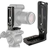 Universal Camera L Bracket Quick Release L Plate 1/4' Screw Arca Swiss Vertical Video Shooting Compatible with Manfrotto...