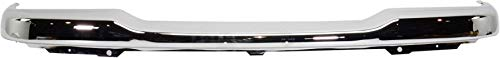 Front Bumper Compatible with 2001-2005 Ford Ranger Chrome (XLT 4WD)/(FX4 with Fog Lights) Models