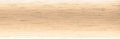 Graber 2-Inch Round Smooth Wood Curtain Rod, 96-Inch Customizable Length (Natural, Unfinished)