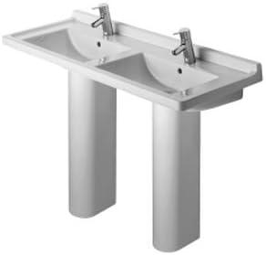 Duravit Starck 3 Double Washbasin Set D19056 Pedestal Sinks Amazon Com