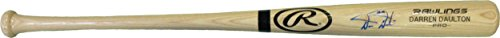 Darren Daulton Signed Bat - Rawlings engraved inscribed 93 NL Champs - JSA Certified - Autographed MLB Bats