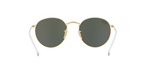 Ray-Ban RB3447N 001 ROUND METAL Sunglasses 50mm