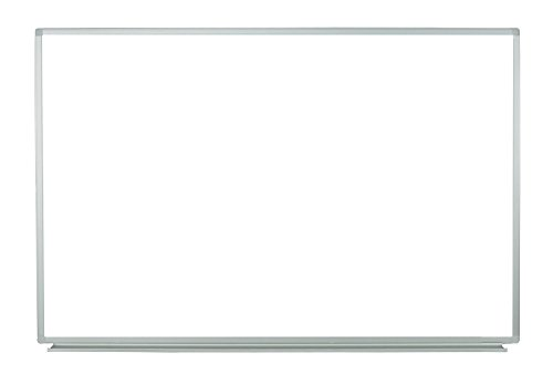 Luxor Wall-Mounted Dry Erase Magnetic Whiteboard 60''W x 40''H by Luxor
