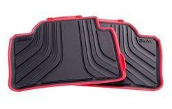 BMW NEW OEM 4-Series All-Weather Rear Floor Mats, Sport Line ()