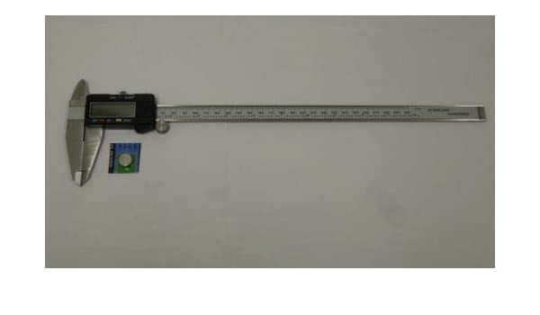 """12/"""" Digital Electronic Caliper Precision Stainless Inch Metric LCD Dial NEW"""