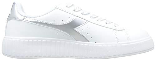 Sneakers Game P Step Donna Diadora Silver 90001 Per Metalized d6wqR775