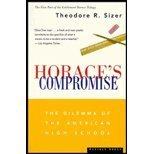 Horace's Compromise : The Dilemma of the American High School, Sizer, Theodore R., 0395377536