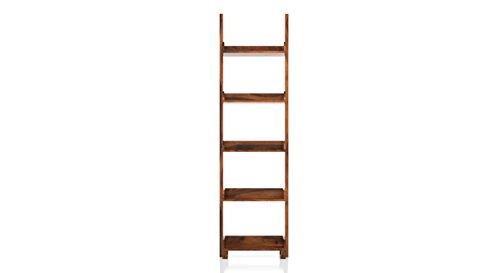 Urban Ladder Austen Bookshelf  45 Book Capacity, Finish : Teak