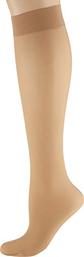 (Wolford Women's Individual 10 Knee-Highs Fairly Light Small)