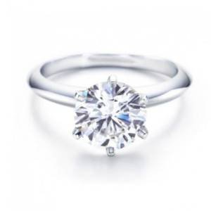 IGI Certified 1 Carat Round Brilliant Cut / Shape 14K White Gold 6 Prong Solitaire Diamond Engagement Ring (I-J Color, SI2, 1.00 cts)