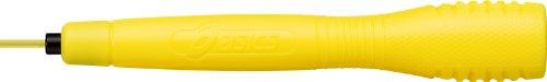 asics 아식스 클리어 토비 줄넘기 줄  (91-230) 옐로 / 오렌지 / 그린 / 네이비 / 핑크 / 블랙 / 블루 / 레드  사이즈 : 손잡이 길이 16cm, 로프 3.5mmφ 길이 2.7m