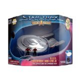 Star Trek U.S.S. Enterprise NCC-1701-D with Picard and Riker