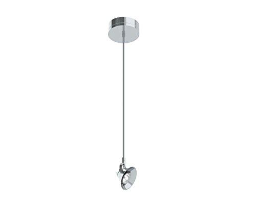(Prima Lighting 963-00-9073-PC-24 Modern Cormorrant III Track Head, Small, Polish Chrome)