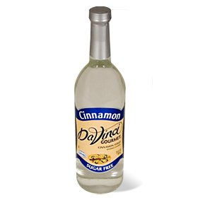 Da Vinci Sugar Free Cinnamon Syrup with Splenda 750 ml Bottle by DaVinci