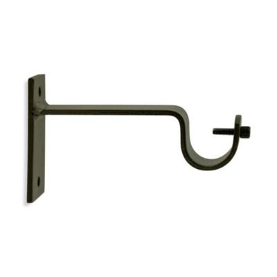 Bee Line Industries North Branch Iron Works Single Rod Bracket Oil Rubbed Bronze New