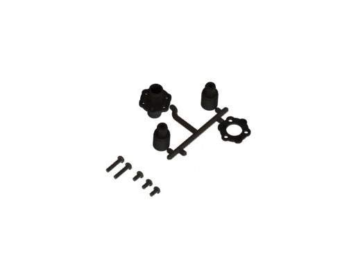3Racing #SAK-D134 Plastic Solid Axle For Sakura D3 for 3Racing All from 3Racing