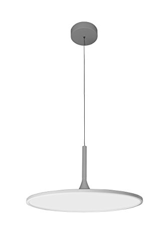 VONN VMC31820SW Modern LED Disc Chandelier Lighting with Adjustable Hanging Light, White Review