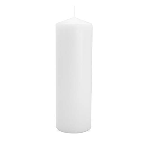 - Royal Imports Pillar Candle for Wedding, Birthday, Holiday & Home Decoration, 3