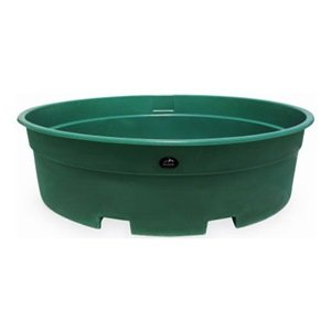High Country Plastics W-350FG Water Tank, 350 gallon, Forest Green Plastic Water Tanks
