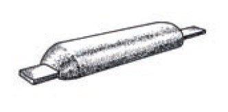 Plastimo Anodo para Soldar de Aluminio- Magnesio- Zinc Tipo-1 Magnesio / 1.8