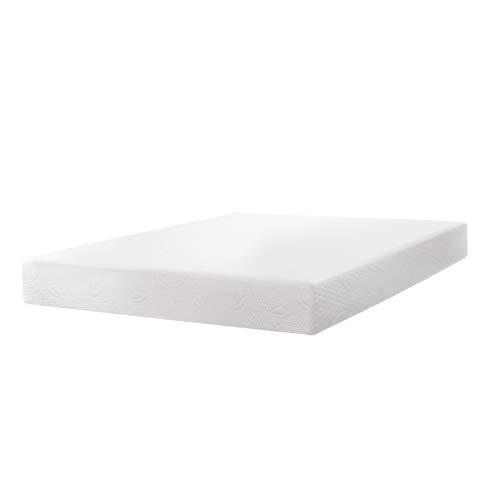 """Best Price Mattress BPP-AFM-8SQ 8"""" Air Flow Memory Foam, Short Queen, White Mattress"""