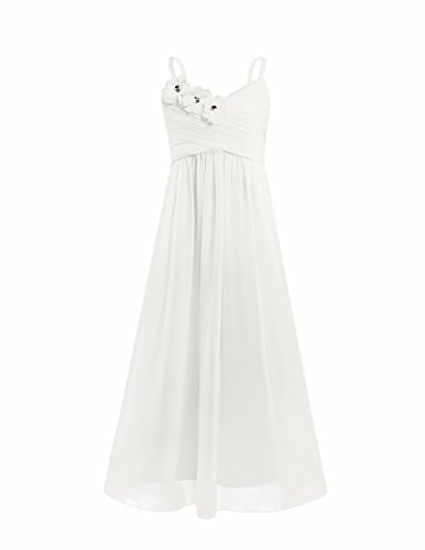 Bridal Spaghetti Strap Bridesmaid Dress - 7