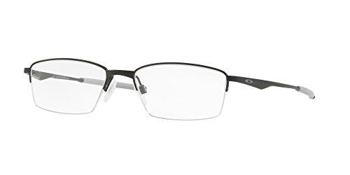 Oakley OX 5119 01 Limit Switch 0.5 Satin Black Metal Rectangle Eyeglasses ()