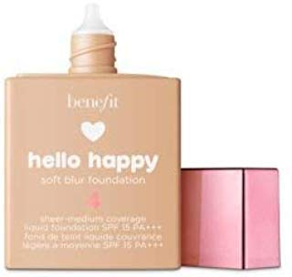 (Benefit Cosmetics Hello Happy Soft Blur Foundation Shade 4)