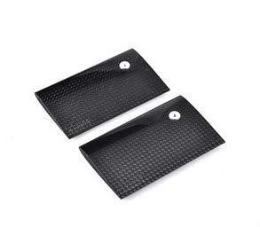 Hockus Accessories TREX 600 Carbon Fiber Flybar Paddle/3K H60143 x2 ()