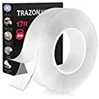 Double Sided Tape for Walls - Heavy Duty Nano Magic Tape - Strong Аdhes?vе Tape Washable and Reusable - Wall Tape for…