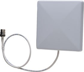 Zebra Technologies AN720-L51NF00WUS RFID Antenna, Rugged Wide Beam Width, US Only