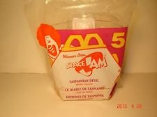 McDonalds Space Jam Tasmanian Devil Toy #5