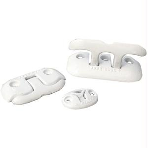 - Dock Edge + Almag 35 Flip-Up Dock Cleat, 6-Inch, White