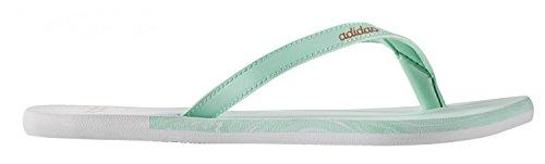 Adidas Eezay Ice Cream W, Infradito Donna, Verde (Versen/Oxmete/Ftwbla), 38 EU