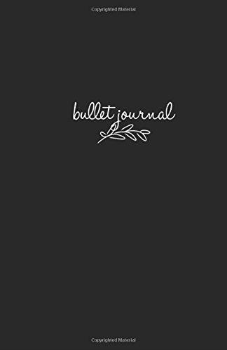 "Bullet Journal: Black Notebook Dotted Grid, 5,5""x 8,5"", Dot Grid Journal, Design Book, Planner, Dotted Notebook, Work Book, Sketch Book, Math Book, ... (Dot paper) (Dot Grid Notebook) (Volume 1) PDF"