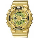 G-Shock GA110GD-9A Classic Series Designer Watch - Gold / One Size