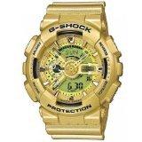 Casio G-Shock GA110GD-9A Classic Series Designer Gold / One Size Men's - Warehouse Outlet Designer