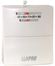 LuxPro PSM30SA 2-Wire Heat only Mechanical Thermostat