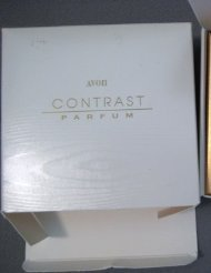Avon Contrast Parfum-.25 oz Rare in glass bottle-collectible perfume - Avon Perfume Collectables