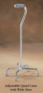 North Coast Medical NC87114 Norco Adjustable Quad Cane Small Base
