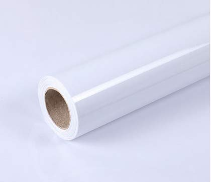 YIZUNNU Pure White Self Adhesive Contact Paper Wallpaper Furniture Film Sticker Kitchen Bedroom Wall Home Decoration,24x98 Inch