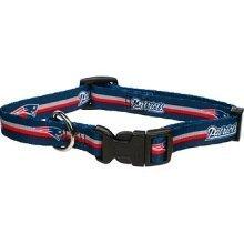 New England Patriots Medium Pet Dog Collar (Medium)