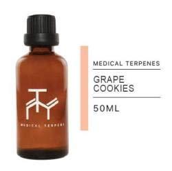Medical Terpenes 100% Pure Strain Specific Terpene Profiles (50ml, Grape Cookies)