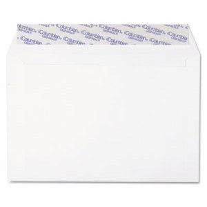 Westvaco Grip-Seal Booklet/Document Envelope, 6 x 9, White, 250/Box (1 Box) Booklet Grip Seal Envelope